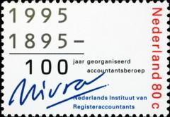 NVPH 1637 - 100 jaar NIVRA