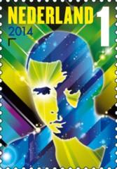 Postzegel DJ Afrojack