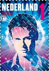 Postzegel DJ Armin van Buuren