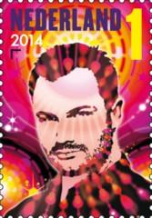 Postzegel DJ Dash Berlin