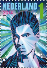 Postzegel DJ Hardwell
