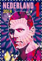 Postzegel DJ Tiësto