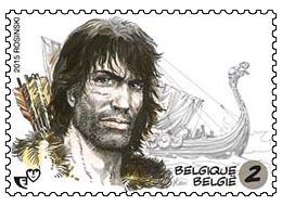 Postzegels België 2015 De saga van Thorgal 26 Januari