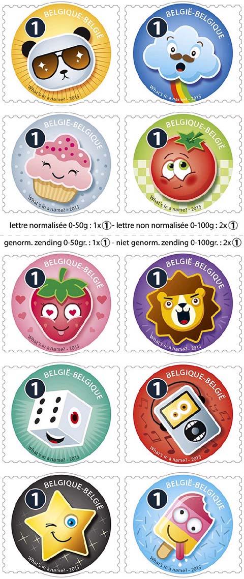 Postzegels België 2015 Smoeltjes 26 Januari