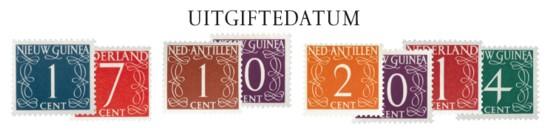 cijferreeks [1] Dag van de Postzegel 2014