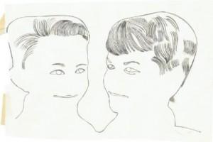 tekening driesjan
