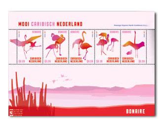 Bonaire postzegelvel Mooi Caribisch Nederland 2014