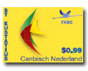 St Eustatius postzegel 99ct 2014
