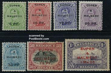 Postzegels Eupen Malmedy