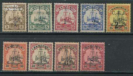 Postzegels Kameroen