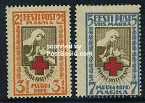 Postzegels Estland