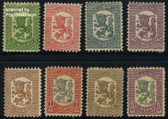 Postzegels Finland