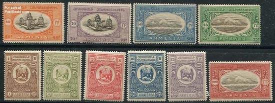 postzegels Armenië