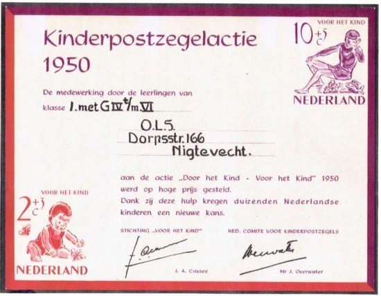 klassebedankje 1950