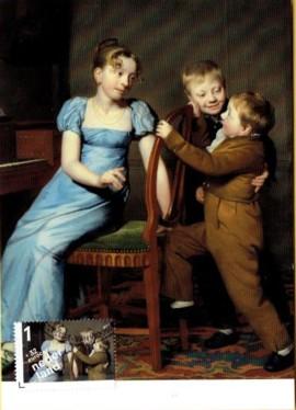 maximumkaart gestoorde pianospel