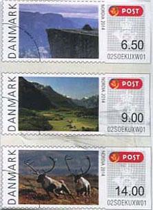 postzegels denemarken