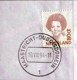 Postzegel met stempel Duboisdomein