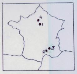 3. geografisch Frankrijk