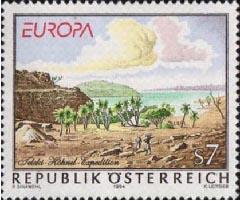 Europazegel Oostenrijk Von Höhnel