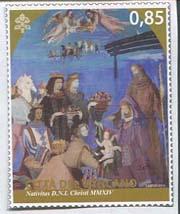 Kerstzegel Vaticaanstad