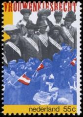 NVPH 1183 - 60 jaar vrouwenkiesrecht in Nederland