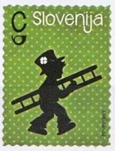schoorsteenveger postzegel
