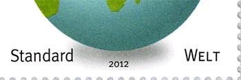 wereldbol zonder antarctica