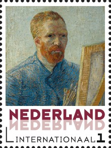 10. Vincent van Gogh - Zelfportretten 5