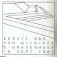 FDC-stempel 16 sept 1982