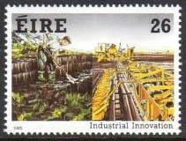 Industrial Innovation and Engineers postzegel Ierland