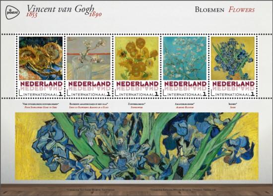 Vel Vincent van Gogh - bloemen