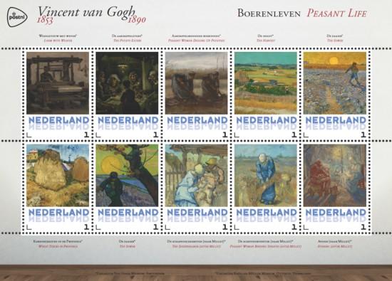 Vel Vincent van Gogh - boerenleven