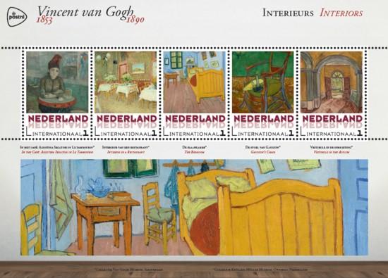 Vel Vincent van Gogh - interieur