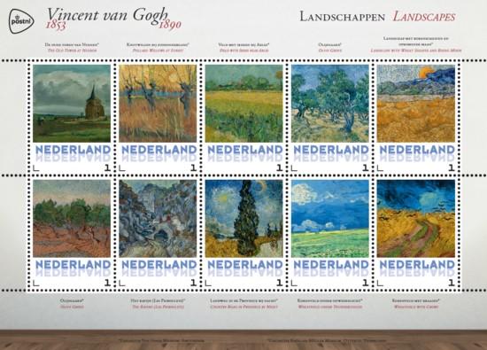 Vel Vincent van Gogh - landschappen