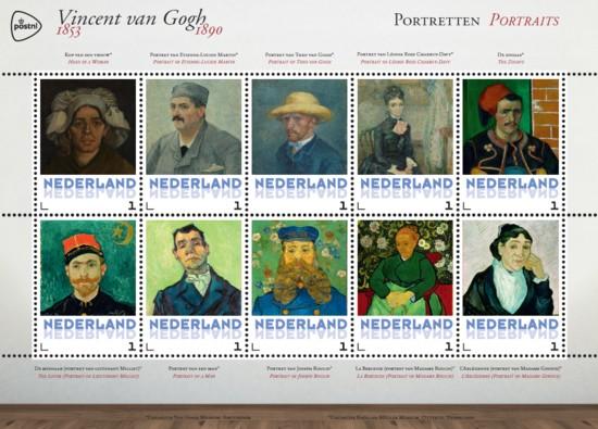 Vel Vincent van Gogh - portretten