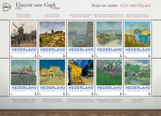 Vel Vincent van Gogh - stad en dorp