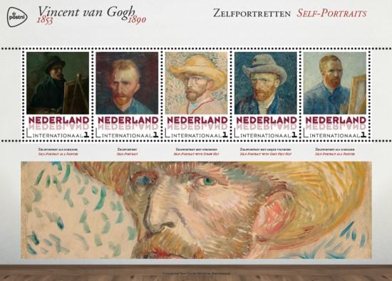 Vel Vincent van Gogh - zelfportretten