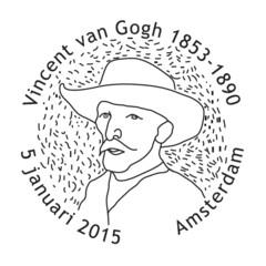 Vincent van Gogh - Stempel Amsterdam