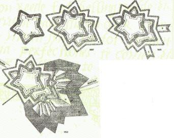 uitbreidingen Bourtange