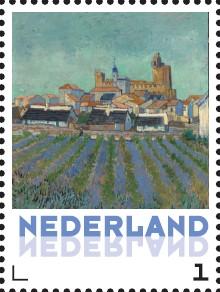 56. Vincent van Gogh - Stad en dorp 6