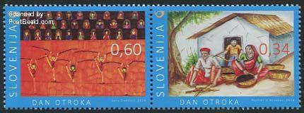 Slovenië postzegel 2014