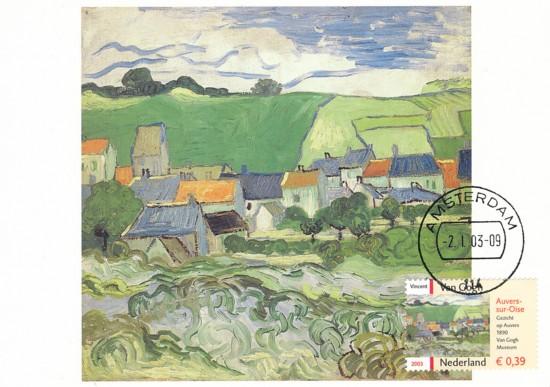 maximumkaart Auvers-sur-Oise