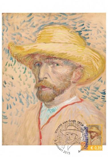 maximumkaart zelfportret Van Gogh (2)