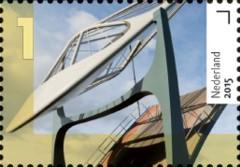 Bruggen in Nederland - Kolenhavenbrug Delft