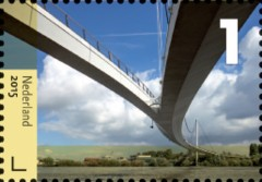 Bruggen in Nederland - Nesciobrug Amsterdam