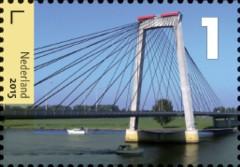 Bruggen in Nederland - Tuibrug Heusden