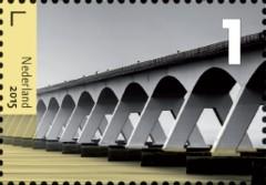 Bruggen in Nederland - Zeelandbrug Oosterschelde