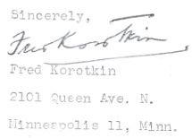 onderschrift brief