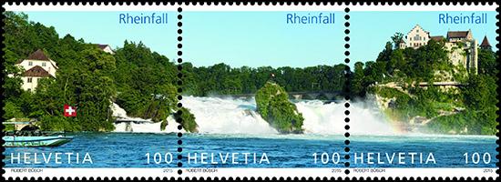 rheinfall postzegel Zwitserland
