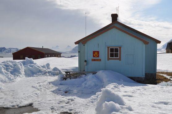 Ny Ålesund postkantoor